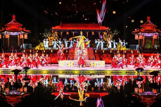 """华清宫《长恨歌》被评为""""游客最喜爱的十大夜间演艺""""(图5)"""