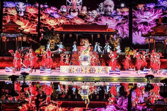 """华清宫《长恨歌》被评为""""游客最喜爱的十大夜间演艺""""(图4)"""